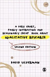 Enlace a Amazon.es A Very Short, Fairly Interesting and Reasonably Cheap Book about Qualitative Research
